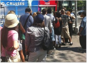 Line for buses
